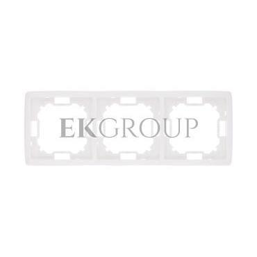 Simon Basic Standard Ramka potrójna uniwersalna biała BMR3/11-153933