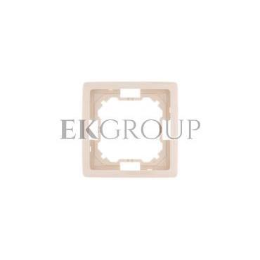 Simon Basic Standard Ramka pojedyncza uniwersalna beżowa BMR1/12-153937