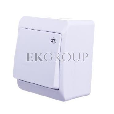 Hermes Łącznik krzyżowy biały IP44 ŁNT-7 0338-02-160900