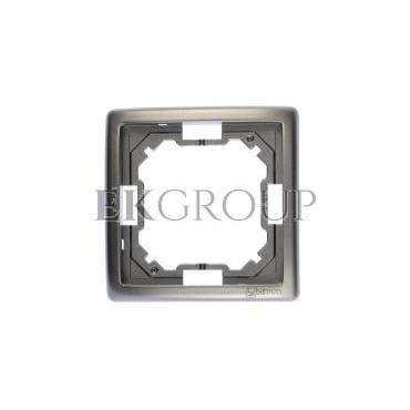 Simon Basic Standard Ramka pojedyncza uniwersalna stal inox BMR1/21-154193