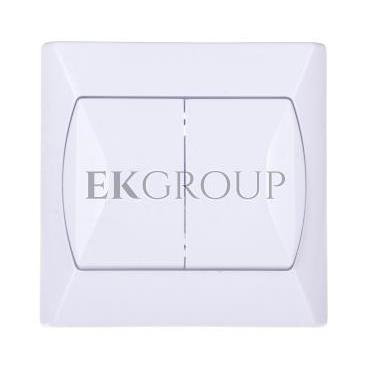 AKCENT Łącznik świecznikowy biały ŁP-2A/00-164978