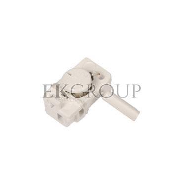 Łącznik do wbudowania jednobiegunowy z cięgłem 0,3m biały CW3C3001-161447