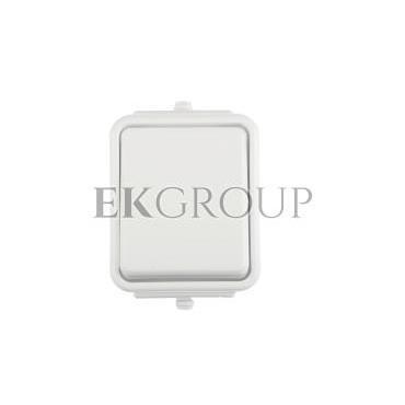 Cedar Łącznik jednobiegunowy hermetyczny IP44 10A biały WNt-100C WNT100C01-161641