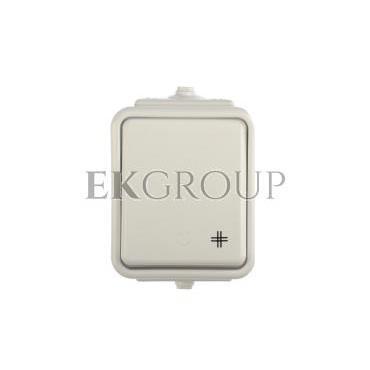 Cedar Łącznik krzyżowy hermetyczny IP44 10A biały WNt-700C WNT700C01-160774