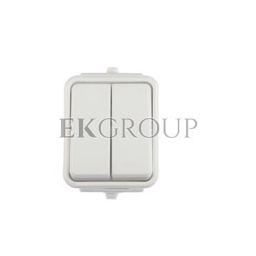 Cedar Łącznik świecznikowy hermetyczny IP44 10A biały WNt-500C01 WNT500C01-164686
