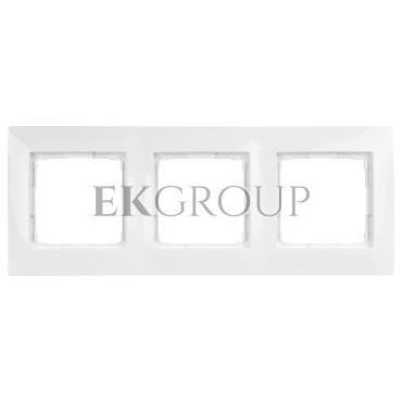 Simon 54 Premium Ramka potrójna biała DR3/11-154412