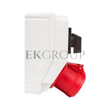 Zestaw instalacyjny z gniazdem 32A 4P RS-Z (L-0-P) czerwony 6280-20-174841
