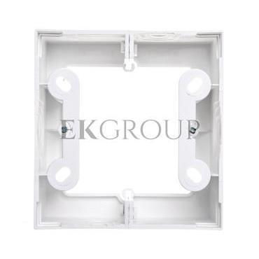 Simon 54 Premium Puszka natynkowa pojedyncza głęboka biała DSC/11-171905