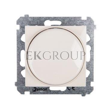 Simon 54 Ściemniacz naciskowo-obrotowy 20-500W kremowy DS9T.01/41-172759