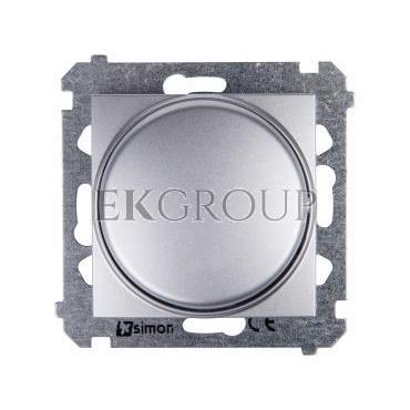 Simon 54 Ściemniacz naciskowo-obrotowy 20-500W srebrny mat DS9T.01/43-172762