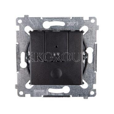 Simon 54 Ściemniacz przyciskowy 40-300W antracyt D75310.01/48-173200
