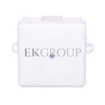 Puszka natynkowa hermetyczna odgałęźna 6 wyjść IP55 biała MZ EP-LUX 0226-11-171789