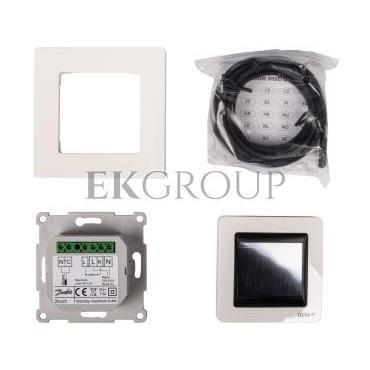 Termostat DEVIreg Touch 230V 16A 5-45°C IP21 biały 140F1064-167010