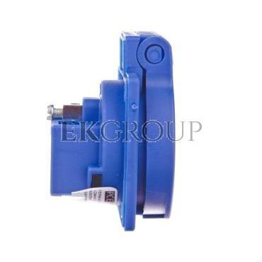 Gniazdo tablicowe 10/16A 2P Z 230V niebieskie IP54 1040-0bsc-167782