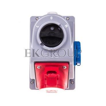 Zestaw instalacyjny z gniazdem 16A 5p (L-0-P) COMBO-POL 960615511-174978