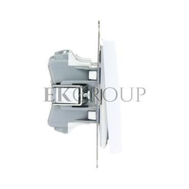 AS Przycisk podwójny zwierny biały ŁP-17G/m/00-171287
