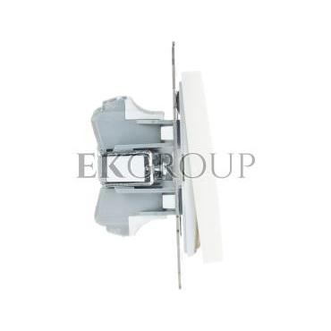 AS Przycisk podwójny zwierny ecru ŁP-17G/m/27-171290