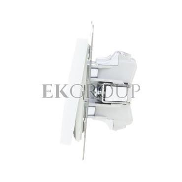 AS Przycisk /dzwonek/ z podświetleniem biały ŁP-6GS/m/00-169709