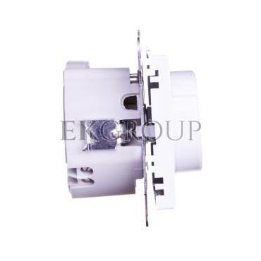 SONATA Ściemniacz przyciskowo-obrotowy /żarowy i halogenowy/ biały ŁP-8R/m/00-172857