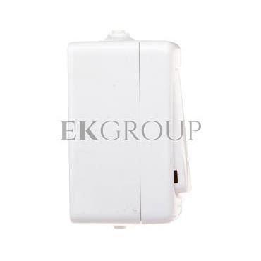 BRYZA Przycisk hermetyczny /światło/ podświetlany IP54 biały 190403-170152