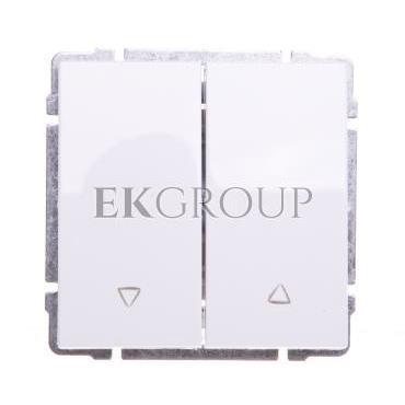 KOS66 Przycisk żaluzjowy biały 660418-171641
