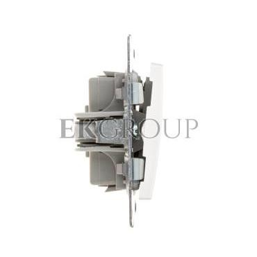 VENA Przycisk żaluzjowy biały 510418-171709