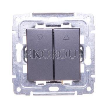 DANTE przycisk żaluzjowy grafit 456018-171761