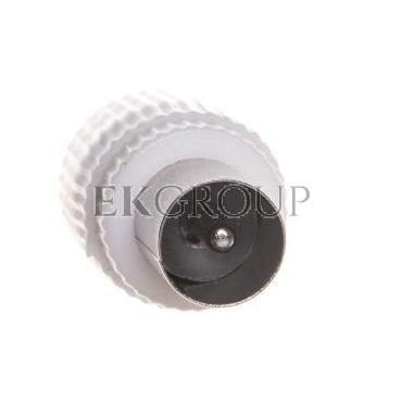 Wtyczka IEC A203 biała K1331 /10szt./-175049
