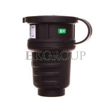 Gniazdo przenośne gumowe z/u 16A 230V IP44 1082054-168559