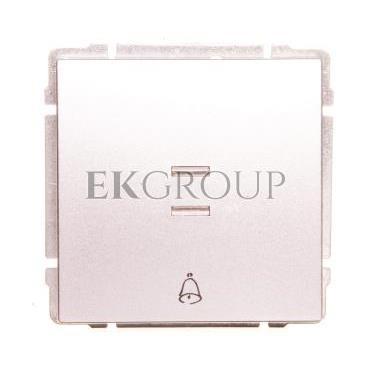 KOS66 Przycisk /dzwonek/ podświetlany aluminium 624014-169913