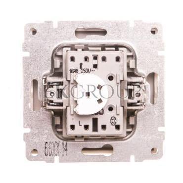 KOS66 Przycisk /dzwonek/ podświetlany aluminium 624014-169914