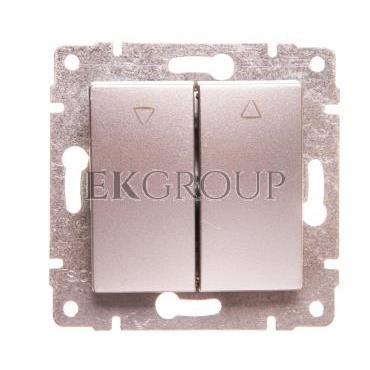 VENA Przycisk żaluzjowy aluminium 514018-171665