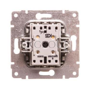 VENA Przycisk żaluzjowy aluminium 514018-171666