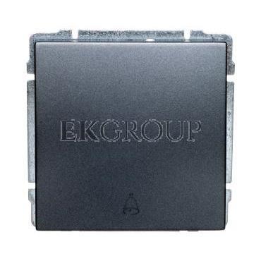 KOS66 Przycisk /dzwonek/ grafit 666014-169931