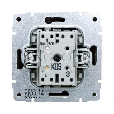 KOS66 Przycisk /dzwonek/ grafit 666014-169932