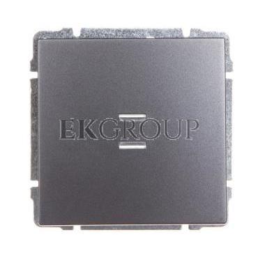 KOS66 Przycisk /dzwonek/ podświetlany grafit 626014-169928