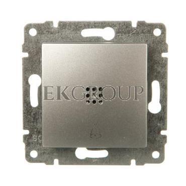 VENA Przycisk /dzwonek/ z podświetleniem aluminium 524014-169922