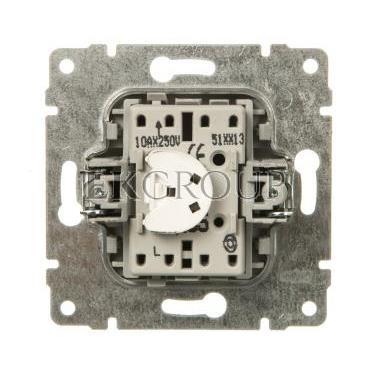 VENA Przycisk /dzwonek/ z podświetleniem aluminium 524014-169923