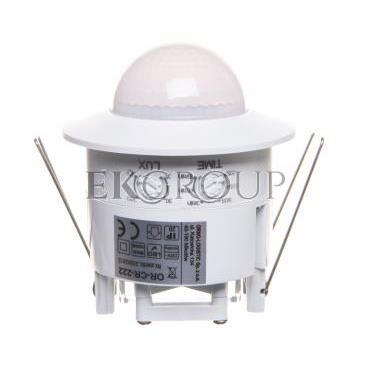 Czujnik ruchu 1200W 360 stopni do sufitów podwieszanych 3 sensory PIR biały OR-CR-222-167383