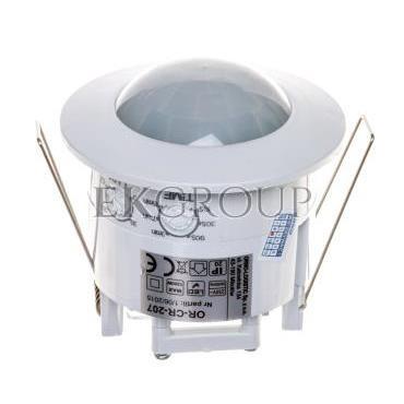 Czujnik ruchu 1200W 360 stopni do sufitów podwieszanych /regulacja soczewki czujnika/ biały OR-CR-207-167386