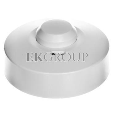 Czujnik ruchu mikrofalowy z osłoną, 5.8GHz 1200W 360 stopni 3-2000lx biały OR-CR-212-167406