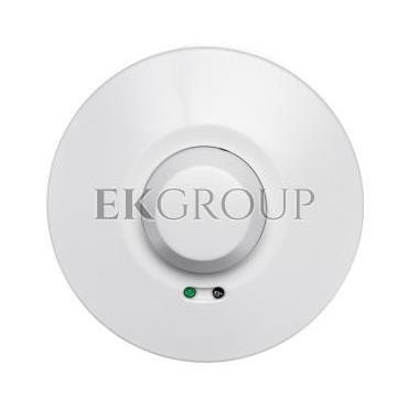 Czujnik ruchu mikrofalowy z osłoną, 5.8GHz 1200W 360 stopni 3-2000lx biały OR-CR-212-167407