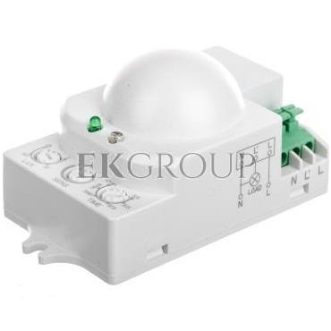 Czujnik ruchu mikrofalowy 5.8GHz 1200W 360 stopni 3-2000lx biały OR-CR-208-167408