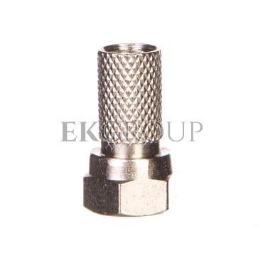 Wtyk F na kabel koncentryczny RG59 miedziany nakręcany VOFRG59-175063