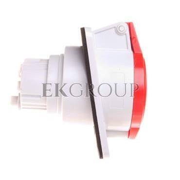 Gniazdo stałe 4P 32A 400V czerwone IP44 10° 6H IEC 309 HP GW62220H-167811