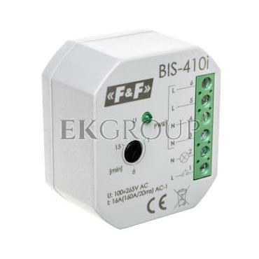 Przekaźnik impulsowy z wyłącznikiem czasowym 230V AC 16A Inrush BIS-410i-168765
