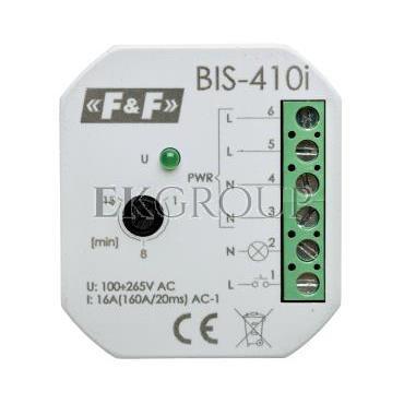 Przekaźnik impulsowy z wyłącznikiem czasowym 230V AC 16A Inrush BIS-410i-168766