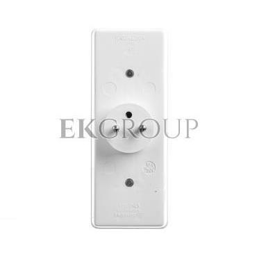 Rozgałeźnik wtyczkowy 2x2P Z   2xEuro biały R-472-172618