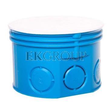 Puszka podtynkowa fi 70 / plytka Z70K niebieska 34036203-172461