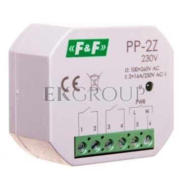 Przekaźnik elektromagnetyczny 2Z 16A 100-265V AC PP-2Z 230V-168791
